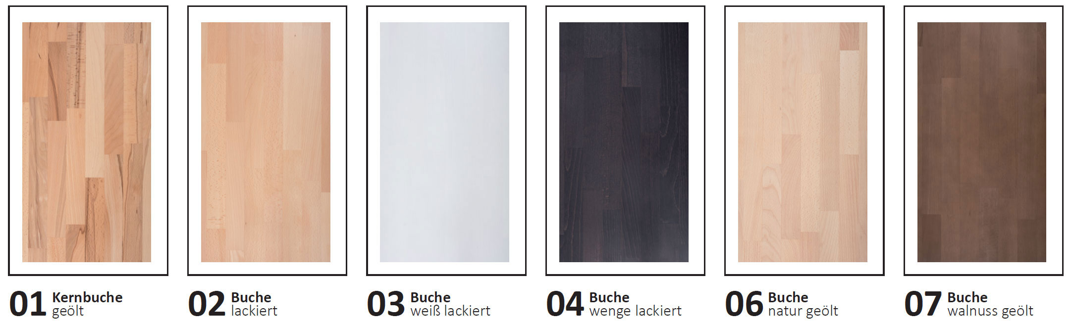 Dico Classic Massivholz Farben