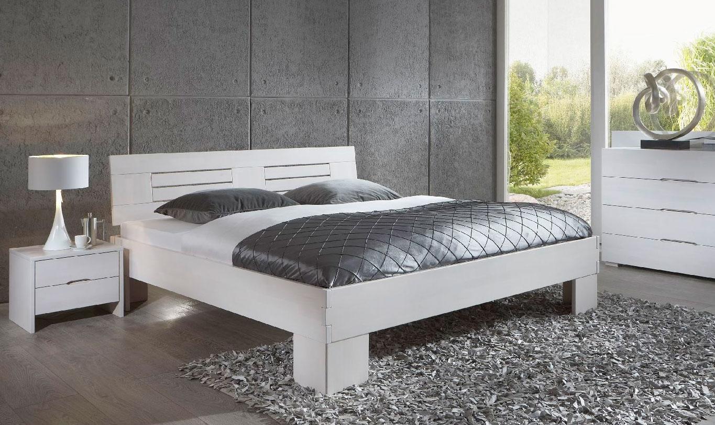 Dico Classic 375 Massivholzbett weiß 180x200 cm