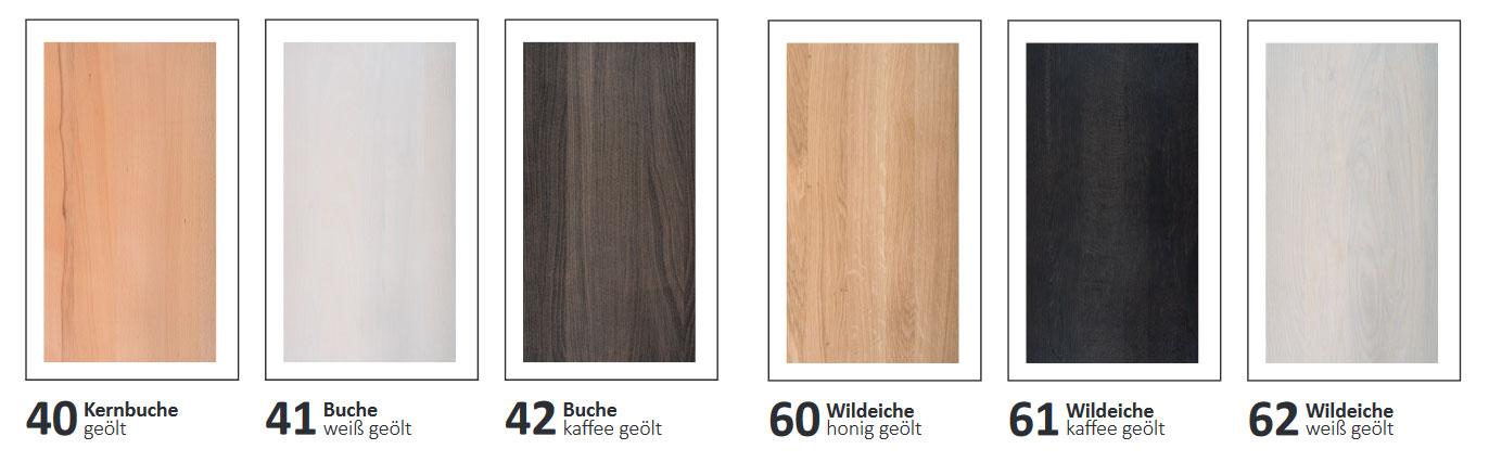 Dico Select Holzbett Farben