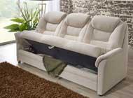 Dietsch Kiel 3Sitzer Sofa mit Stauraum