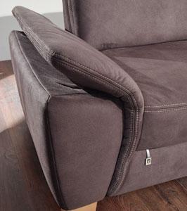 Dietsch Prime 2Sitzer Sofa mit Armteil klappbar