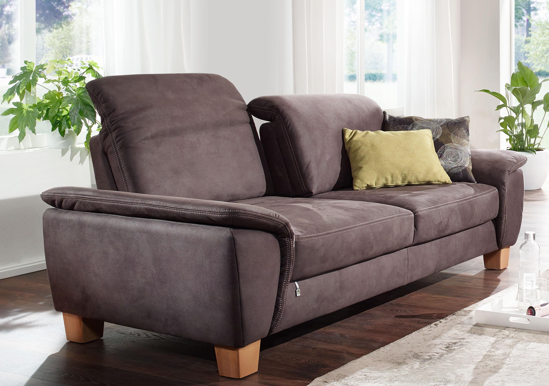 Dietsch Prime 2Sitzer Sofa mit Sitztiefenverstellung Kopfteilverstellung