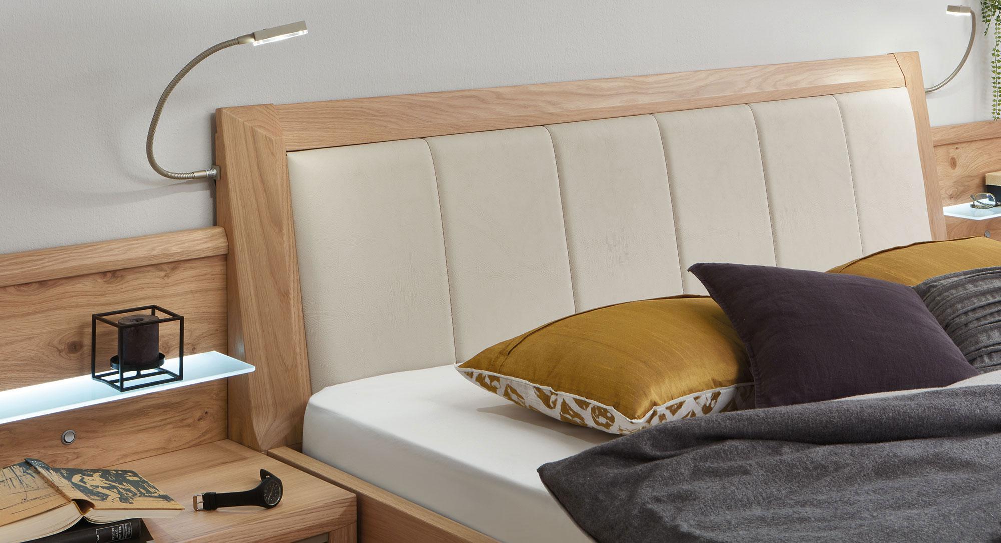 Disselkamp Cavalino Bett mit Polsterkopfteil