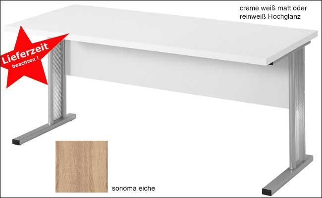 Toro Schreibtisch weiß 160 cm