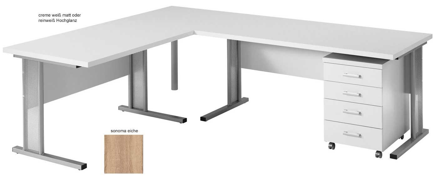 Toro Schreibtisch weiß