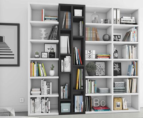 Toro Bücherregal 2farbig