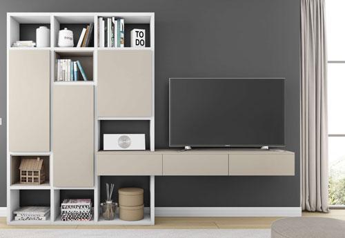 Toro Wohnwand mit TV Paneel