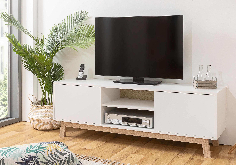 Apart TV Lowboard weiß