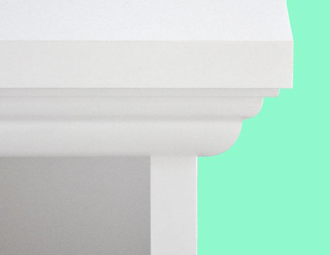 Landhausmöbel Detail Profilleiste
