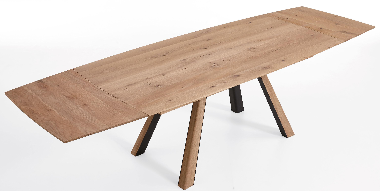 Hartmann Runa Massivholz Esstisch ausziehbar kerneiche