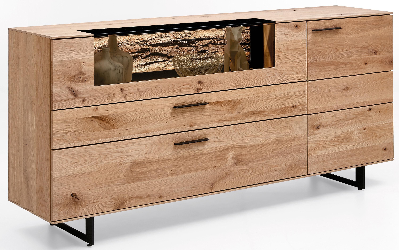 Hartmann Runa Massivholz Sideboard kerneiche