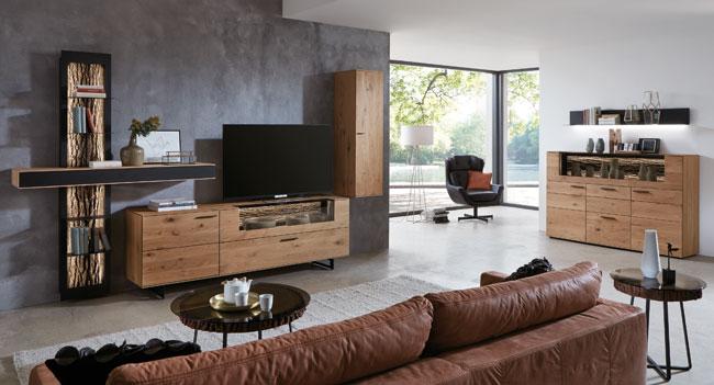 Hartmann Runa Wohnzimmermöbel massiv