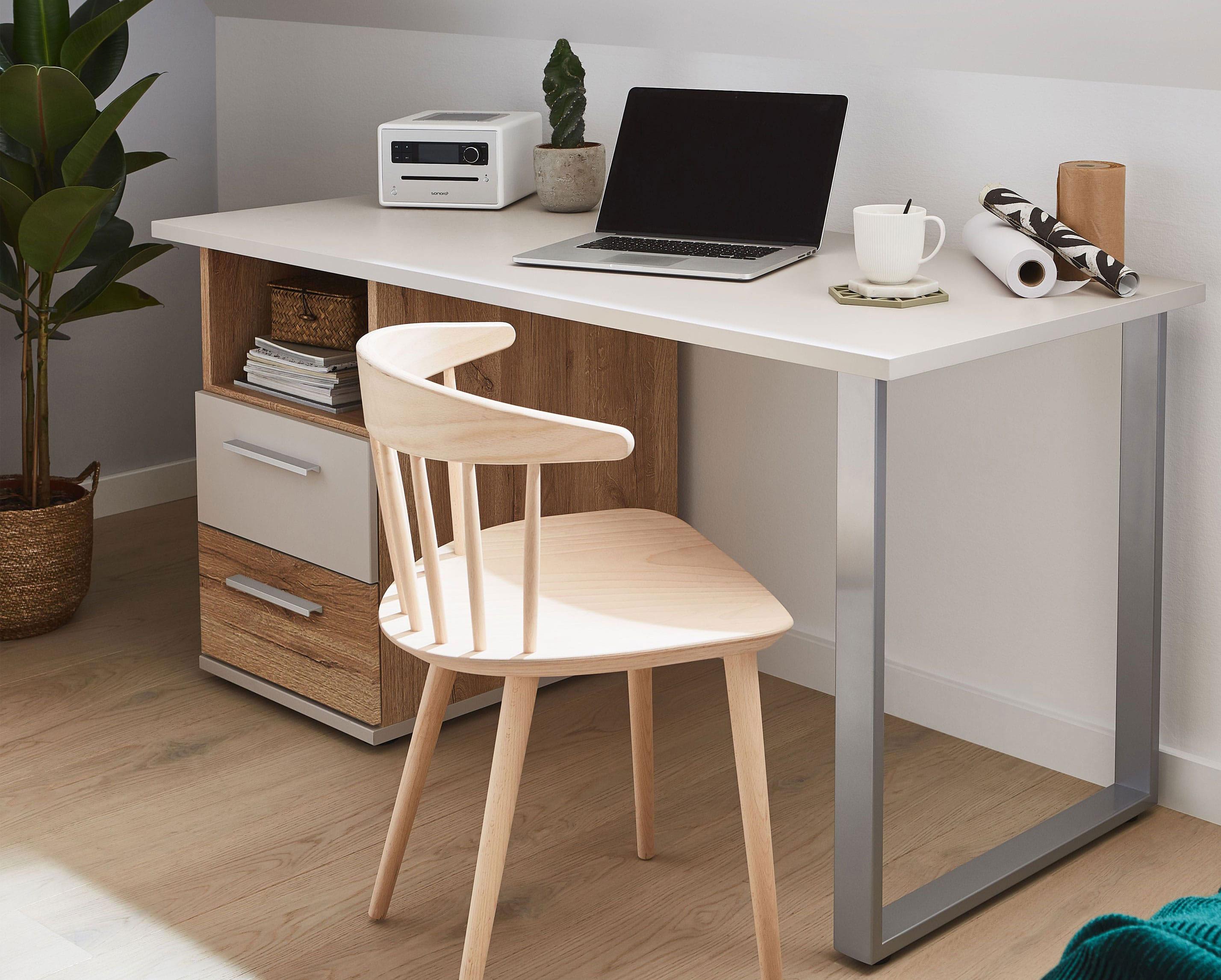 Priess New York Schreibtisch mit Container