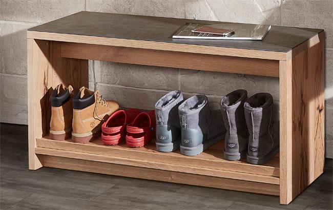Schröder Kitzalm Living Garderobenbank mit Schuhablage