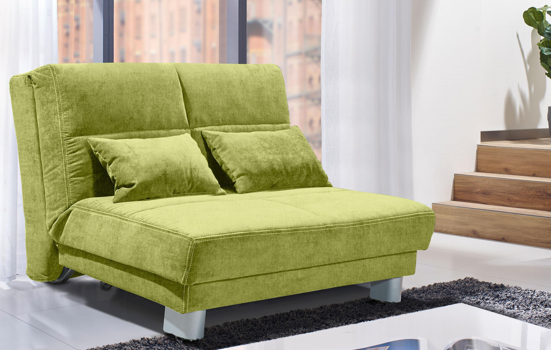 Sofateam Schlafsofa 120 cm grün