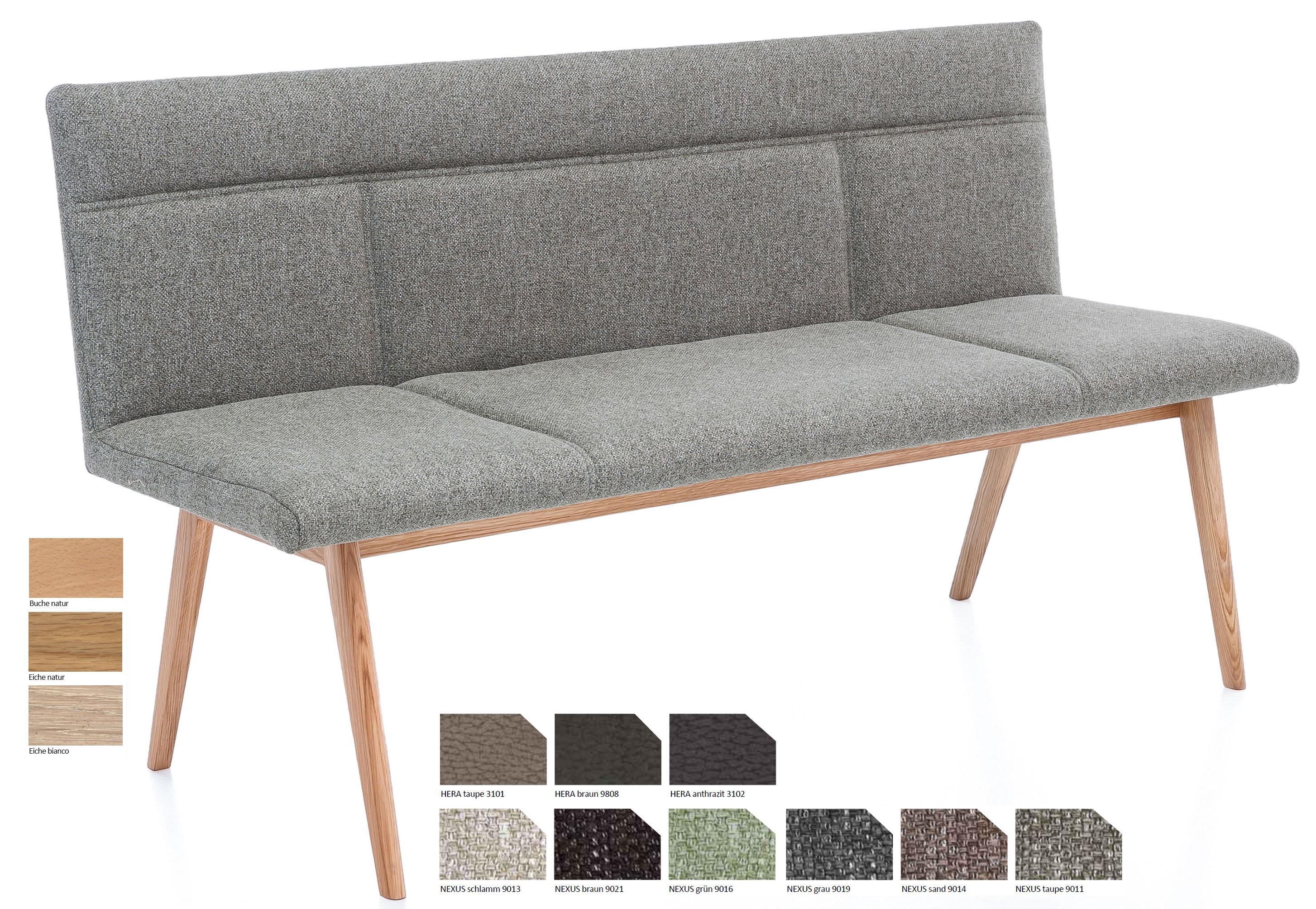 Standard Furniture Alina Polsterbank eiche
