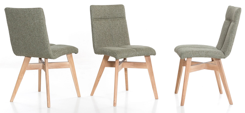 Standard Furniture Alina Polsterstühle eiche / grün