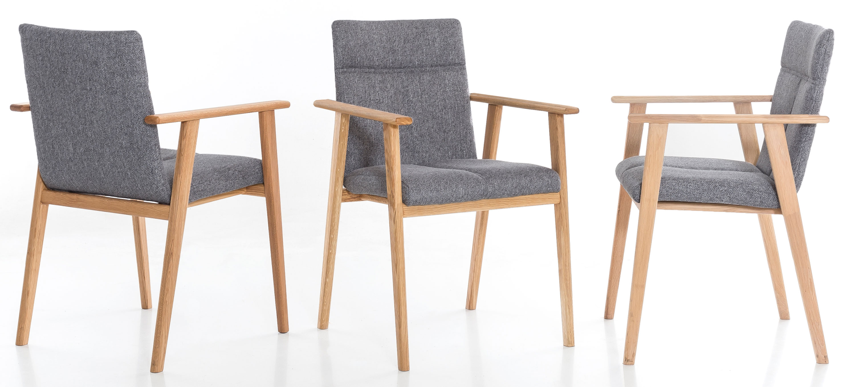 Standard Furniture Alina Stuhlsessel eiche / grau