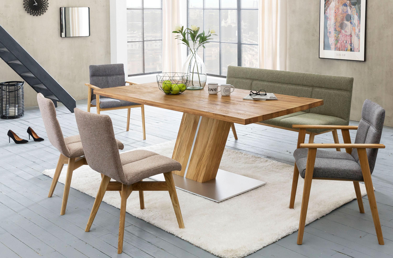 Standard Furniture Essgruppe mit Bank Alina und Tisch Calgary
