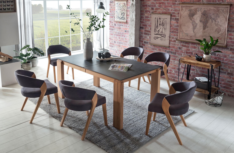 Standard Furniture Essgruppe mit Tisch Malaga und Stühlen Almada