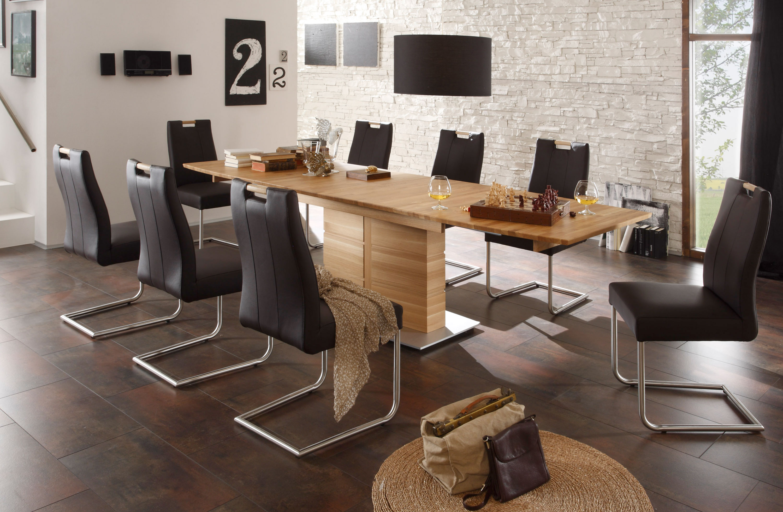 Standard Furniture Tischgruppe massiv kernbuche