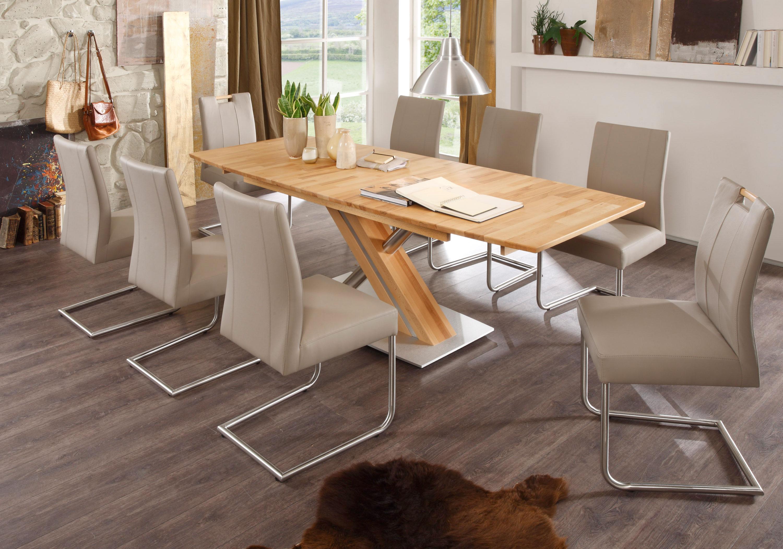 Standard Furniture Tischgruppe mit Tisch Arte S und Stühlen Laura