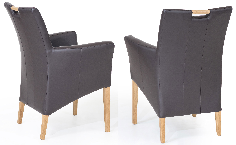 Standard Furniture Bastian Polstersessel Kunstleder grau