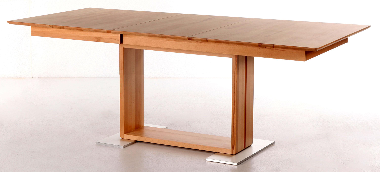 Standard Furniture Benny Ausziehtisch massiv kernbuche