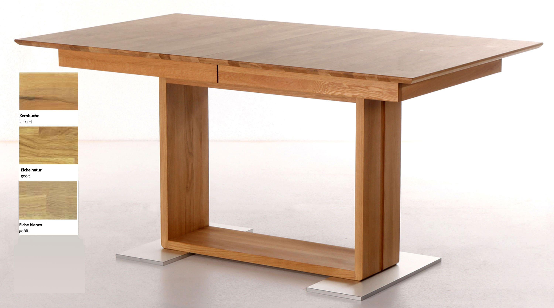 Standard Furniture Benny Massivholztisch kernbuche ausziehbar