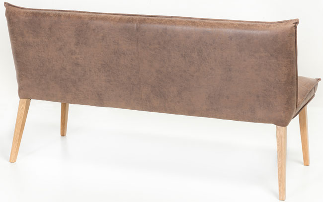 Standard Furniture Genua 2 Polsterbank hellbraun Rückseite