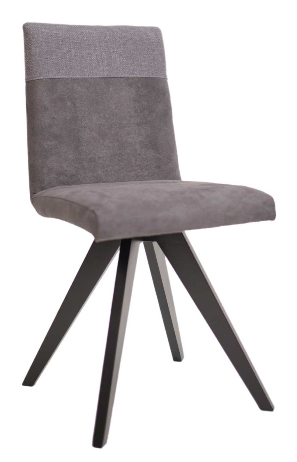 Standard Furniture Grenoble Polsterstuhl mit Spiderbeinen schwarz