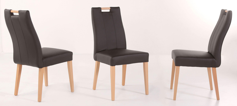 Standard Furniture Jana Polsterstühle Kunstleder