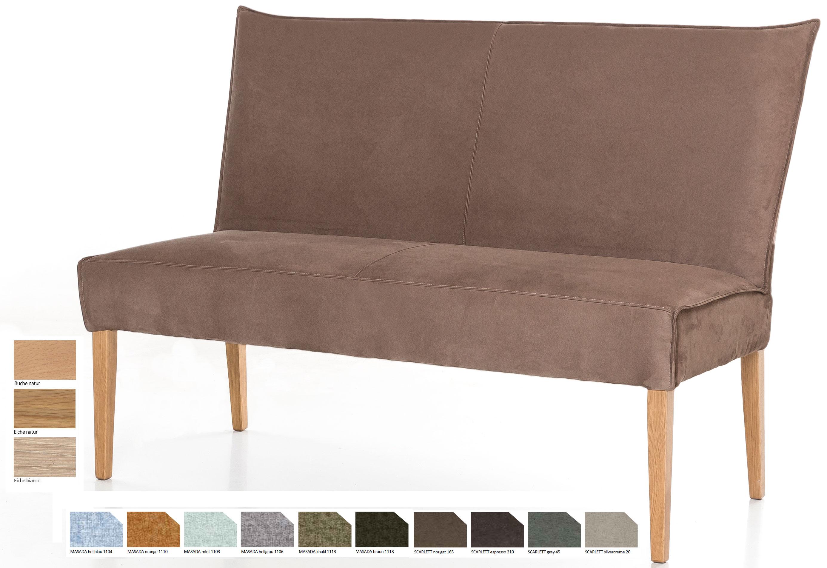 Standard Furniture Kira Polsterbank eiche