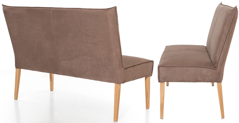 Standard Furniture Kira Sitzbank gepolstert eiche