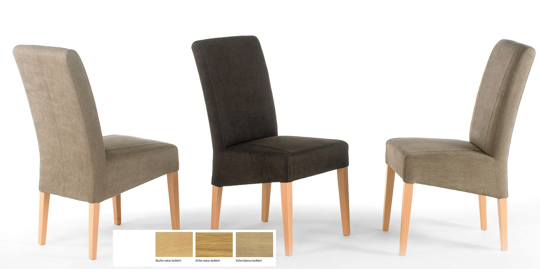 Standard Furniture Leon Polsterstühle braun