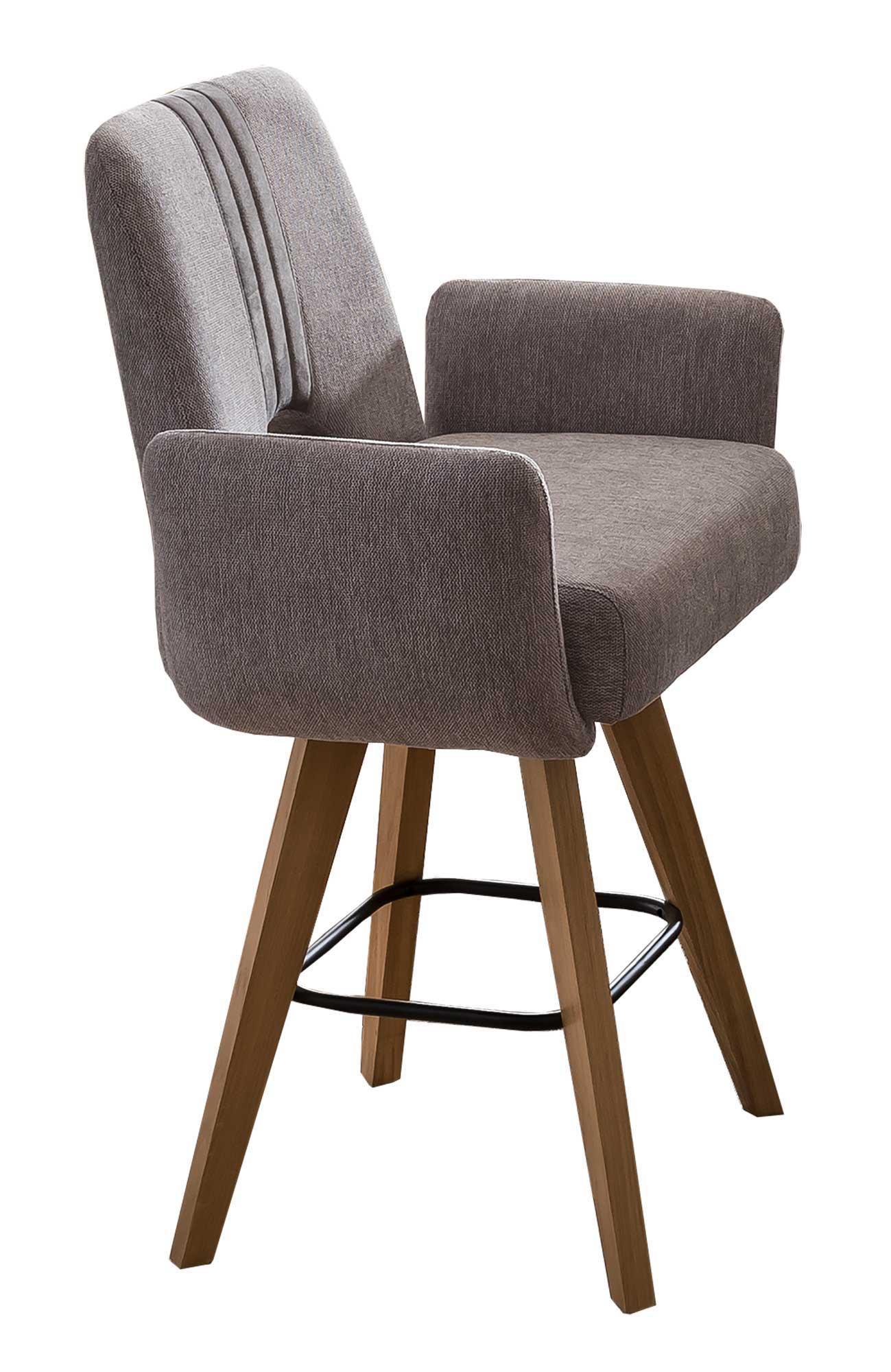 Standard Furniture Nantes PBarstühle grau mit Armlehnen