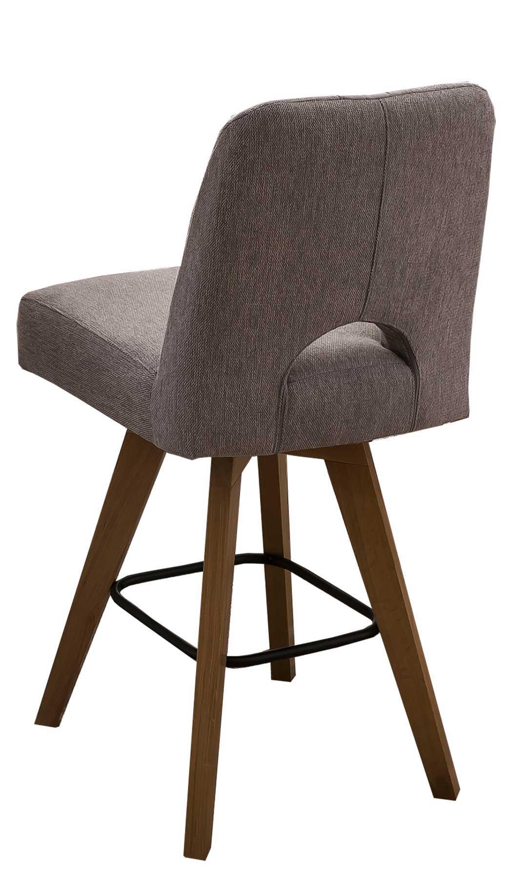 Standard Furniture Nantes Barhocker grau eichefarbig