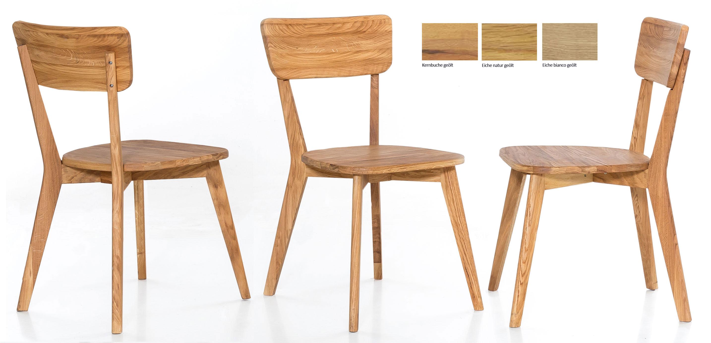 Standard Furniture Nora Holzstuhl eiche