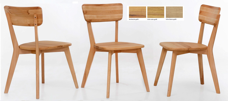 Standard Furniture Nora Holzstuhl kernbuche