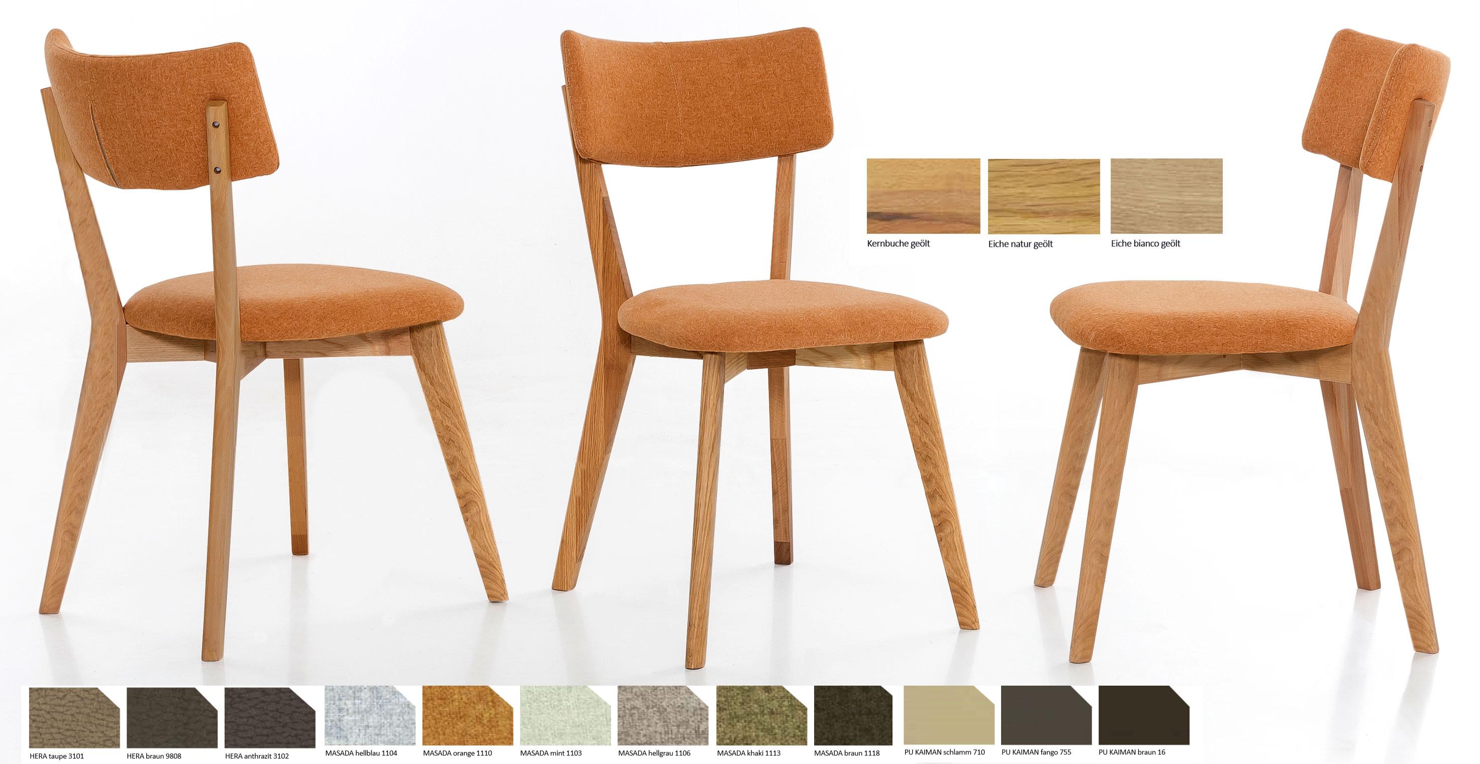 Standard Furniture Nora Polsterstuhl eiche