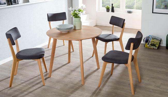 Standard Furniture Tischgruppe mit Stühlen Nora und Tisch Thomas