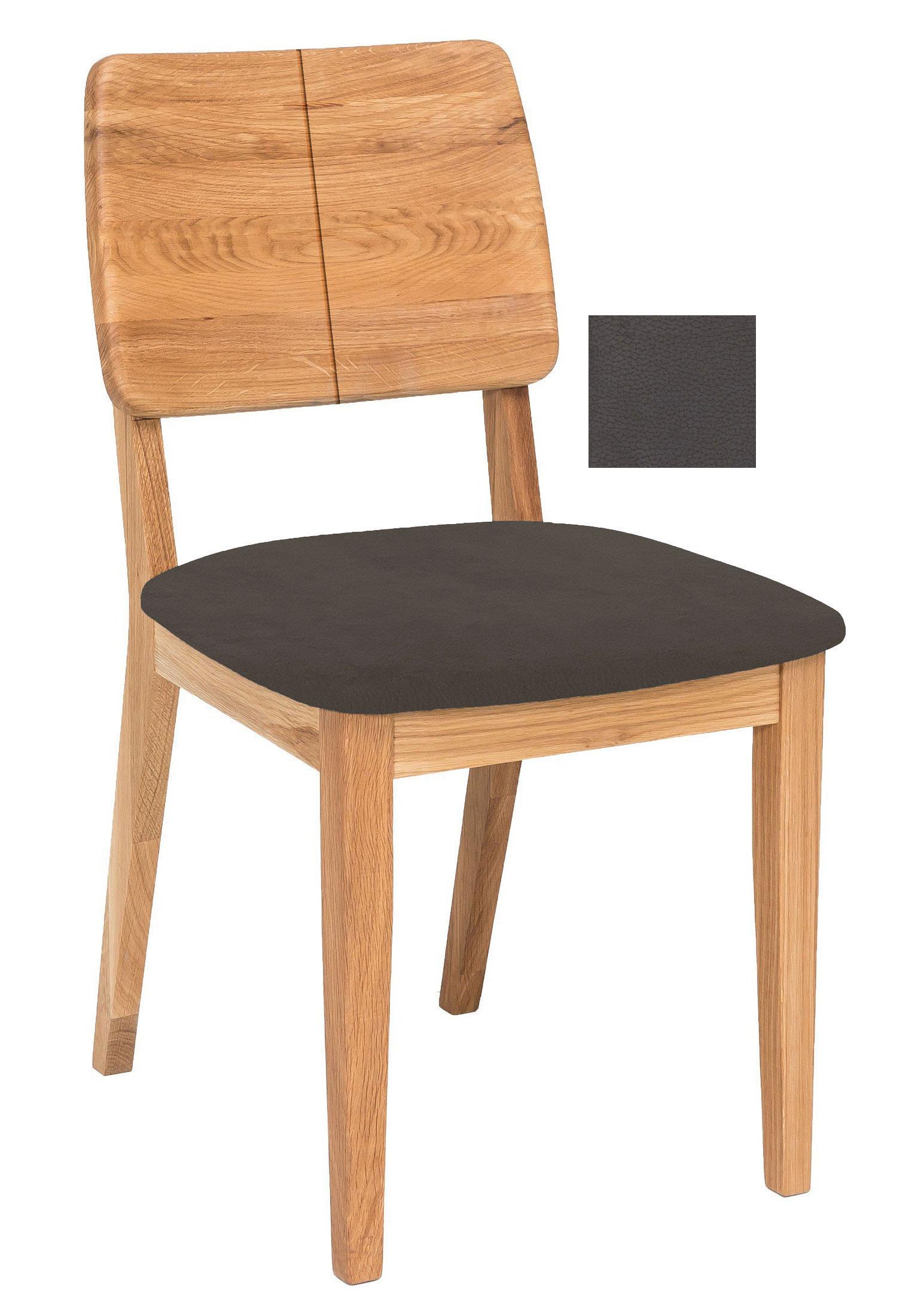 Standard Furniture Norman 2 Holzstuhl eiche / braun