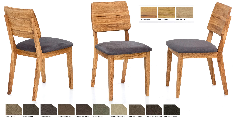 Standard Furniture Norman 3 Polsterstuhl eiche