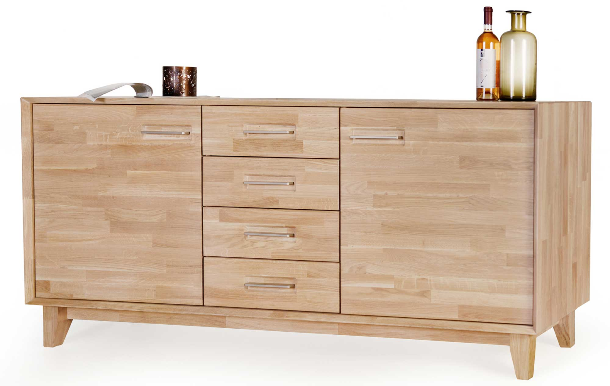 Standard Furniture Numero Uno Sideboard massiv eiche