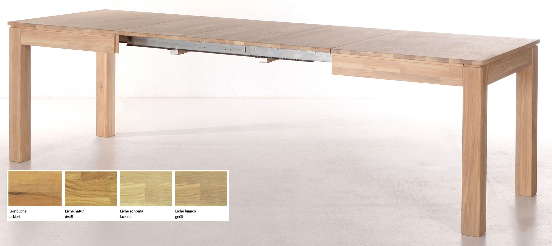 Standard Furniture Rafael Ausziehtisch massiv sonomaeiche