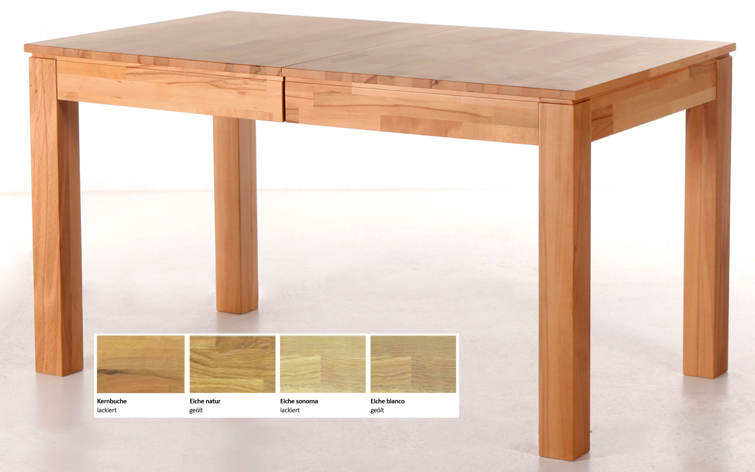 Standard Furniture Rafael Massivholztisch kernbuche ausziehbar
