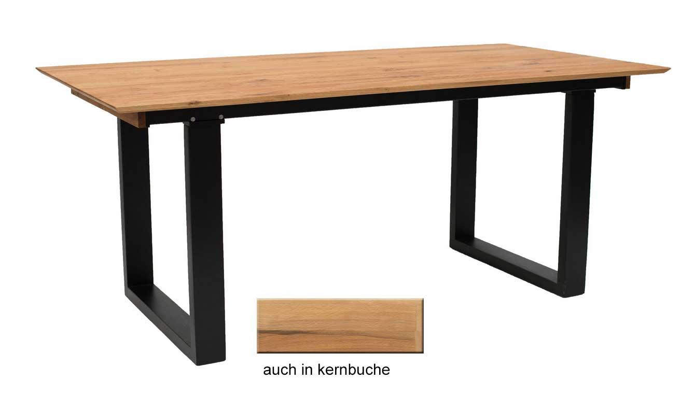 Standard Furniture Rennes Massivholztisch eiche mit Pöttker Auszug