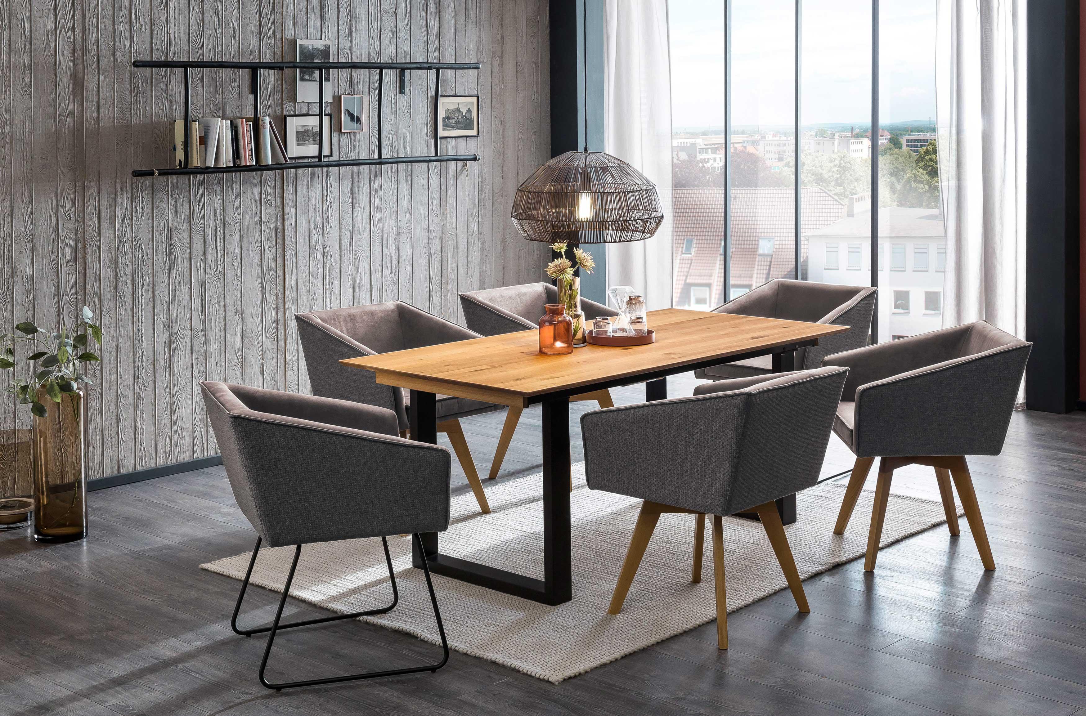 Standard Furniture moderne Essgruppe mit Stuhlsessel Toulouse