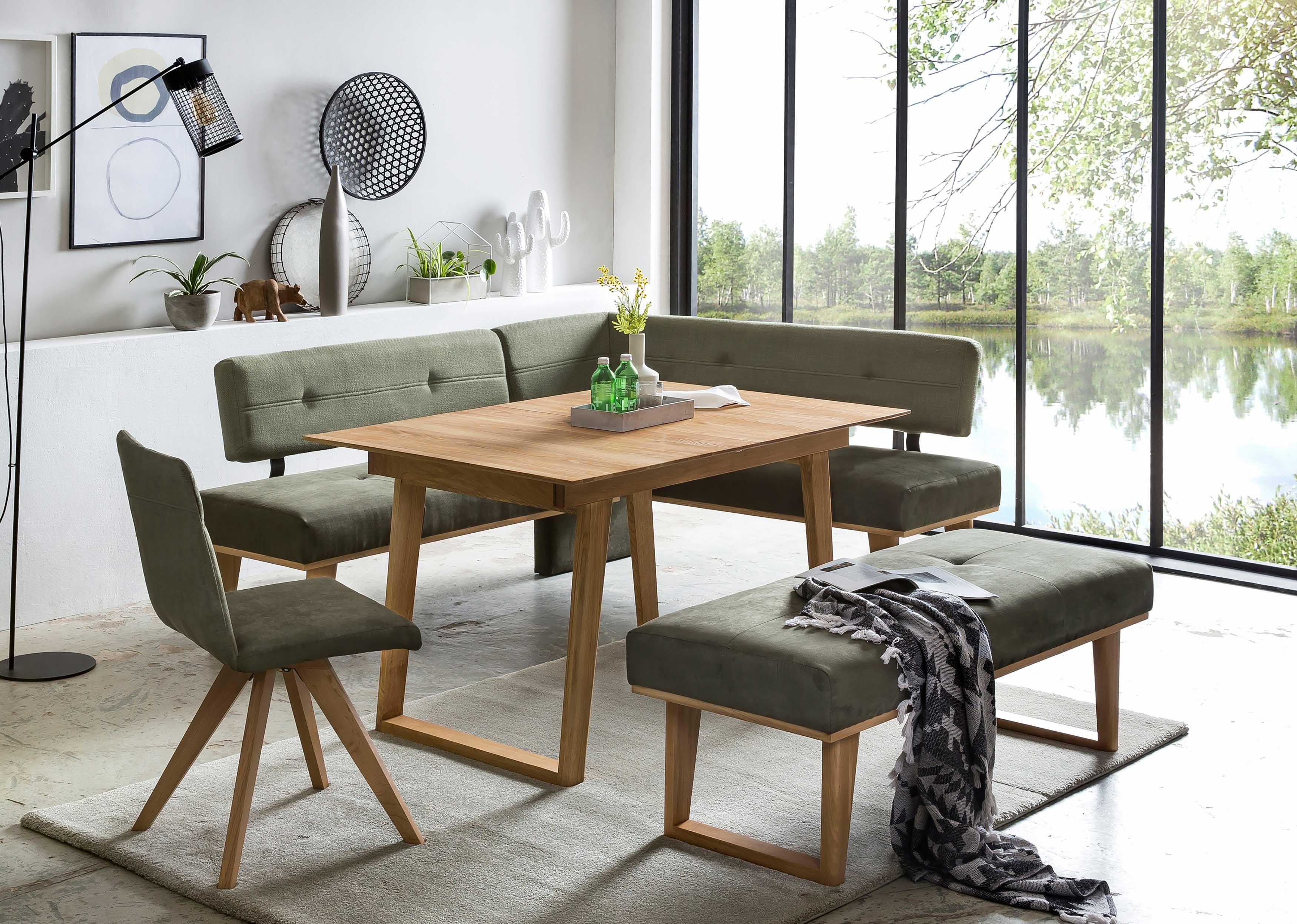 Standard Furniture Eckbankgruppe eiche