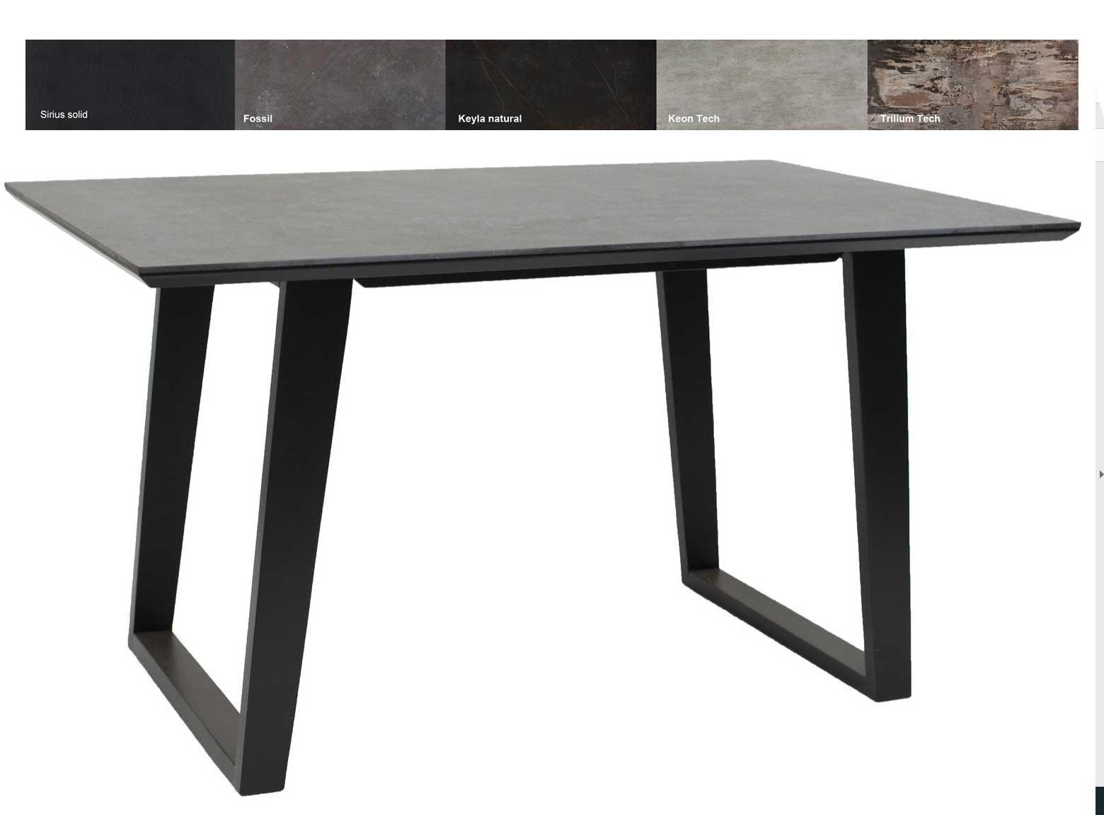 Standard Furniture moderne Essgruppe mit Dekton Fossil